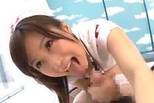 「敏感なんだ〜ピクピクしてスゴいかわいい〜」美少女エロナースがMM号で童貞くんにガンガン突かれ連続アクメ!