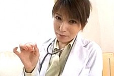「先生が見ててあげるから精液全部出して〜」美人の女医さんに主観で言葉責めされながらセンズリ射精!南波杏