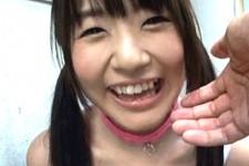 「ニャ〜ンニャ〜ン」拾ったネコ耳娘がエロかわいい笑顔で高速フェラ抜き!つぼみ0