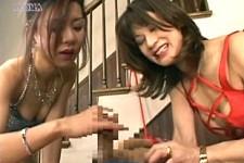 「ドピュドピュはできないのよ〜」痴女マダムの永遠の寸止め!沢口沙羅•桜たまき