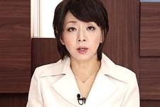 「淫乱オマンコにおチンポが欲しいの〜」熟女キャスターが淫語連発のニュース報道!桐嶋永久子
