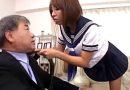 「先生その勃起したチンポ見せてみろよ」茶髪JKに罵倒され騎乗位でザーメン搾り取られるドM教師!